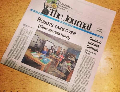 Robot Camp in the News!