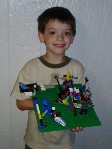 Luke and Legos