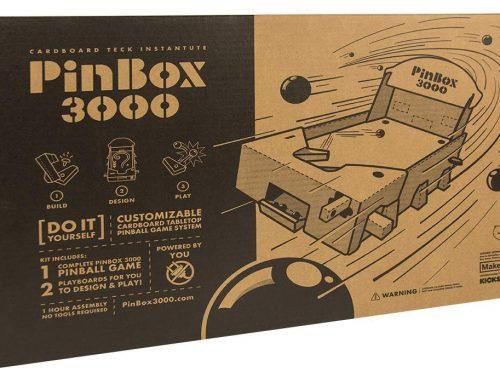 Make a Cardboard Pinball Machine